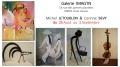 Peintures Michel Letoublon et Sculptures Corine Bevy