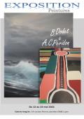 Peintures Bernard Dodet et Anne Charlotte Peridon