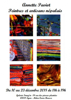 Exposition Annette Paviot