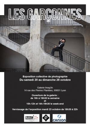 Exposition collective ImagIN - Les Garçonnes