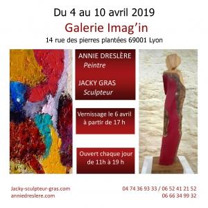 Exposition Jacky Gras et Annie Dreslere